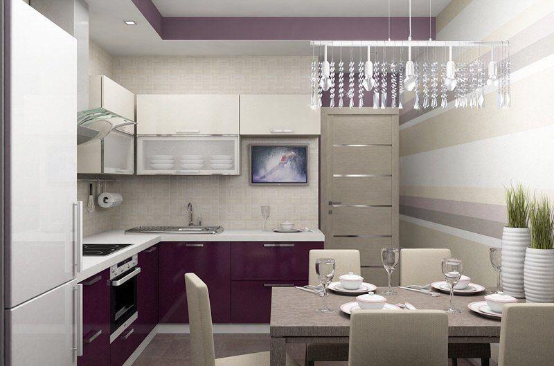 Дизайн кухни 97 серии