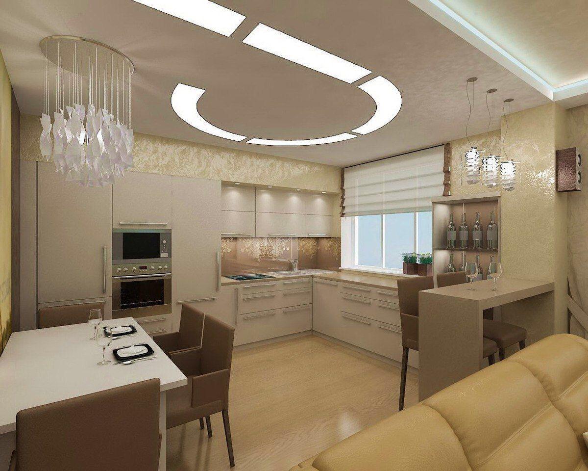 Дизайн проект кухни 9 кв